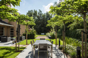 Exclusieve tuin in Zwolle